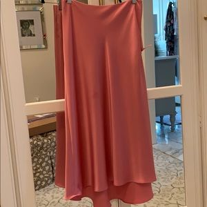 Zara satin skirt